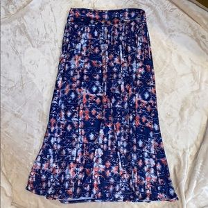 Maurices Plus printed maxi skirt